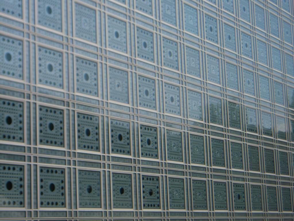 Finestre institut du Monde arabe di Parigi