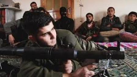 soldato opposizione siriana