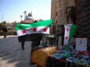 Quartiere 6 Ottobre Il Cairo Bandiere