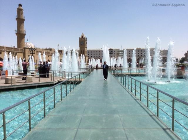 fountain citadel Erbil - Kurdistan Iracheno