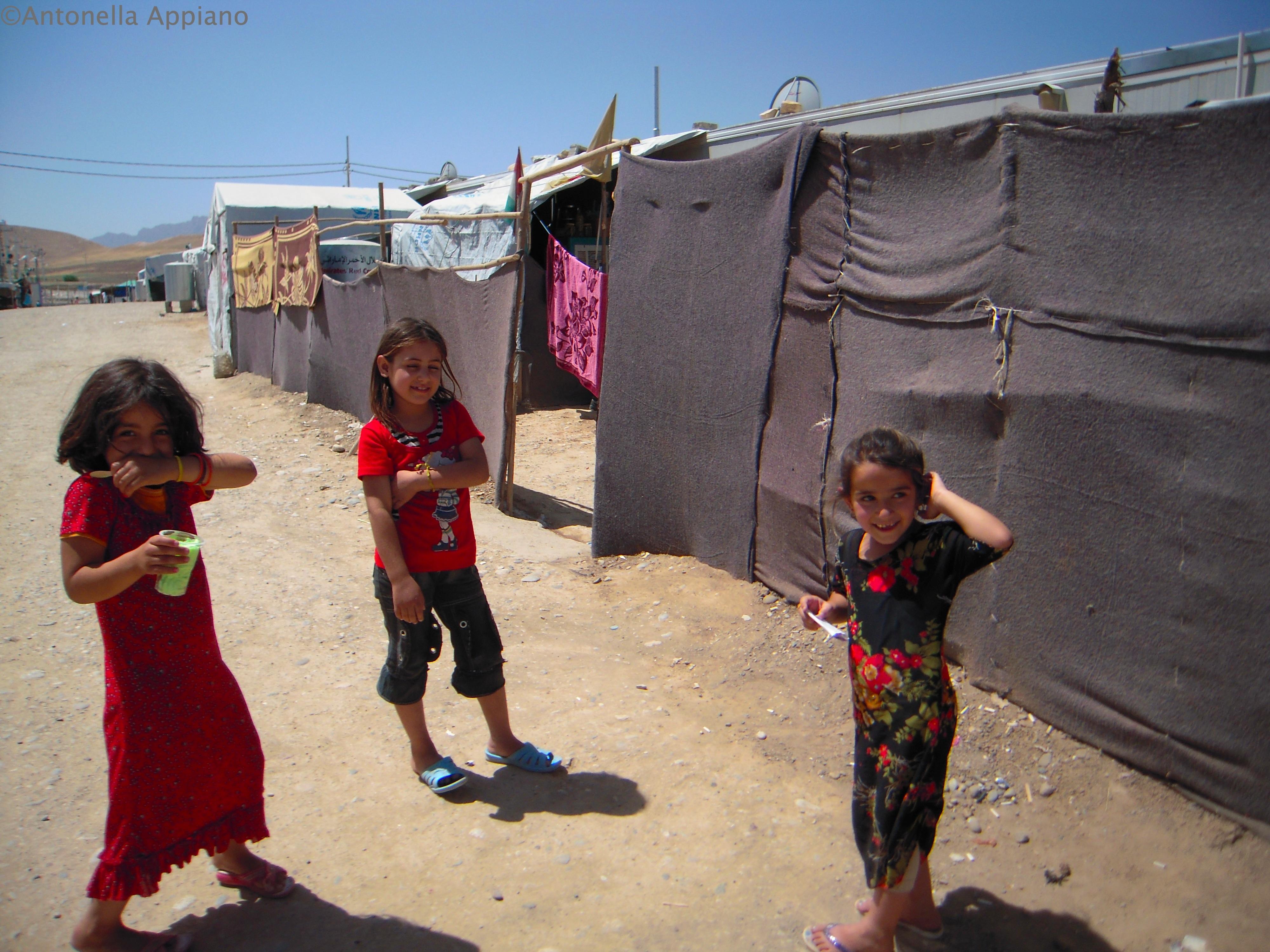 Bambini - Campo Profughi siriano di Basirma - Shaqlawa - Kurdistan iracheno