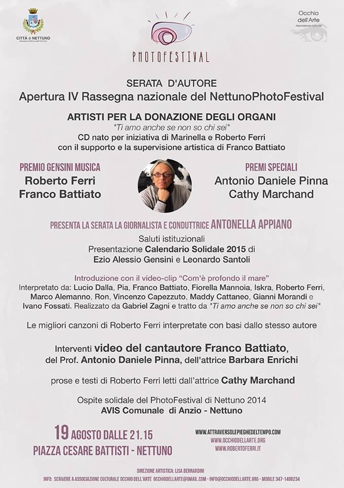 Apertura Nettuno PhotoFestival IV edizione - 19-31 agosto 2014