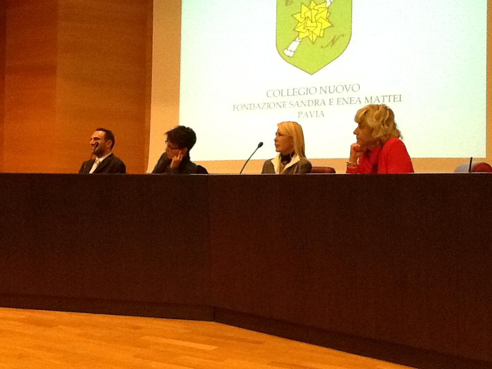 panel - Mazzucotelli, Daniele, Appiano, Bernardi - Collegio Nuovo - Pavia 02